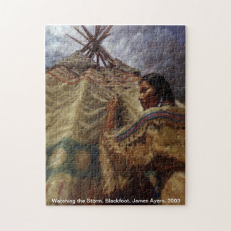 Watching the Storm, Native American puzzle