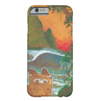 Watching the Sunset Man Dog and Surf Van Barely There iPhone 6 Case