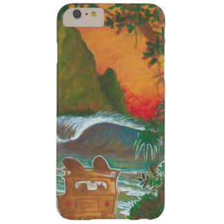 Watching the Sunset Man Dog and Surf Van Barely There iPhone 6 Plus Case