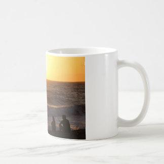 Watching The Sunset Coffee Mugs