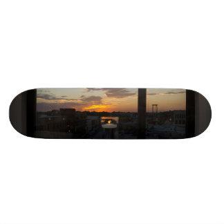 Watching The Sunset Skateboard Deck