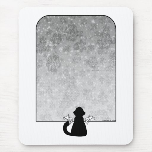 Watching the World Go By mousepad