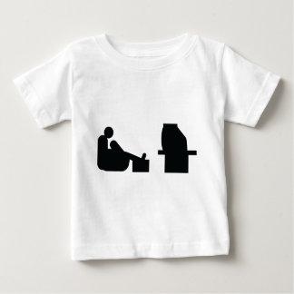 watching tv baby T-Shirt