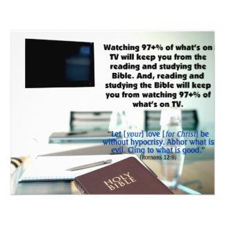 Watching TV Flyer