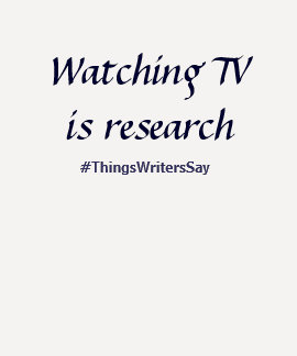Watching TV is Research T Shirts