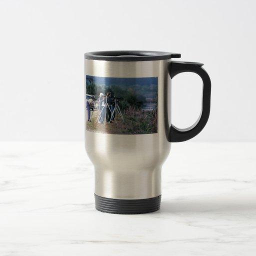Watching Wildldife Coffee Mugs
