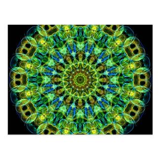 Watching You kaleidoscope Postcard