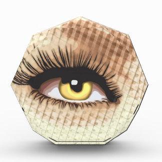 Watching you - Wide eye open
