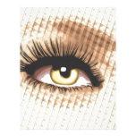 Watching you - Wide eye open Membrete