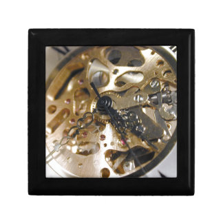 Watchmaker clock working gift box