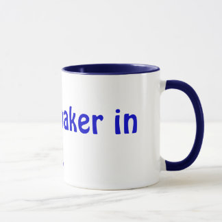 Watchmaker in training mug