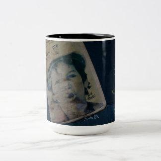 Watchout Two-Tone Coffee Mug