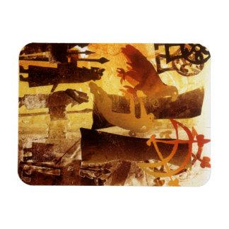 Watchstone and Symbols Rectangular Photo Magnet