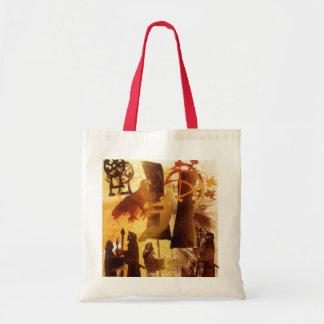 Watchstone and Symbols Tote Bag