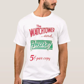 Watchtower and Awake T-Shirt