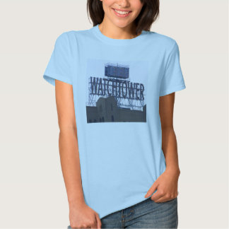 watchtower sign t-shirt