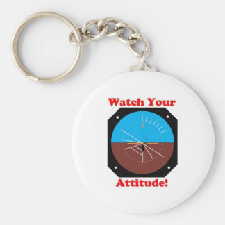 WatchYour Attitude Keychain