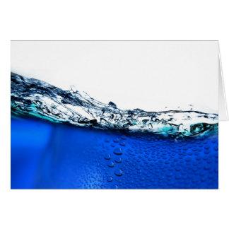 Water3 Greeting Card