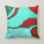 """'Water Abstract2"""" pillow"""