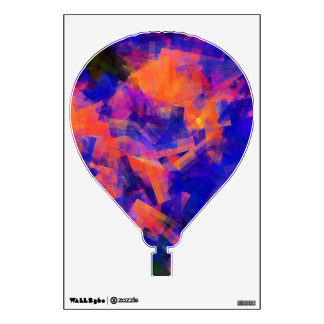 WATER ABSTRACT BALLOON ROOM STICKER