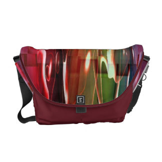 Water Abstract Courier Bag