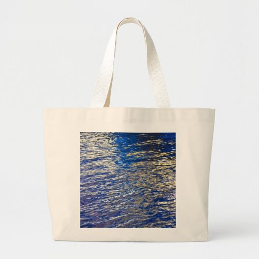Water Abstract Tote Bags