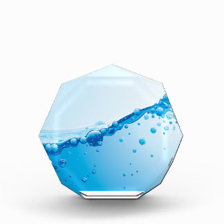 water acrylic award
