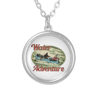Water Adventure Silver Plated Necklace