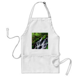 Water After The Rain Smoky Mountains Adult Apron
