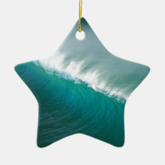 Water Afternoon Offshores California Ceramic Ornament