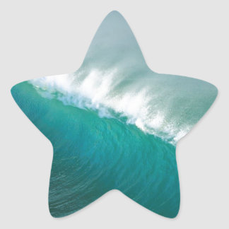 Water Afternoon Offshores California Star Sticker