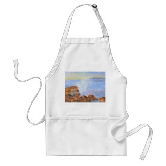 Water against the Rocks, Apron