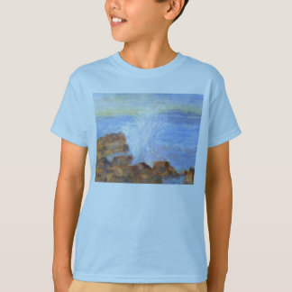 Water against the Rocks, Kid's T-shirt/Shirt T-Shirt