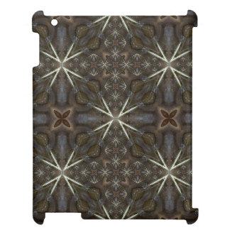 water agate gemstone fractal art Ipad case