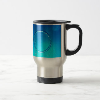 Water Air Ring Bubble 15 Oz Stainless Steel Travel Mug