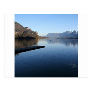 Water Alaska Winter Time Postcard