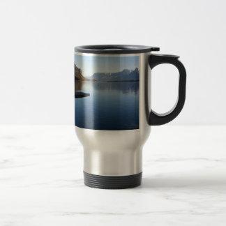 Water Alaska Winter Time Travel Mug