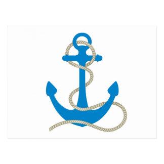 water anchor sea ocean diver swim beach marine postcard