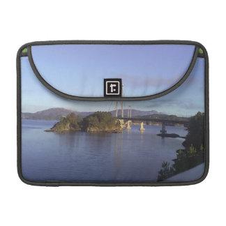 Water and Bridge MacBook Pro Sleeve