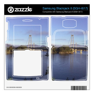 Water and Bridge Samsung Blackjack II Skin