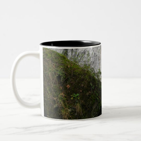 Water and Earth Two-Tone Coffee Mug