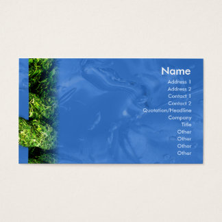 Water and Grass - Business Business Card