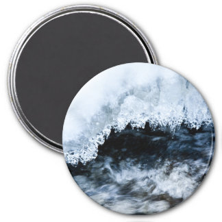 Water and ice fridge magnets