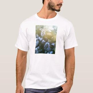 Water and Koi By Bernadette Sebastiani T-Shirt