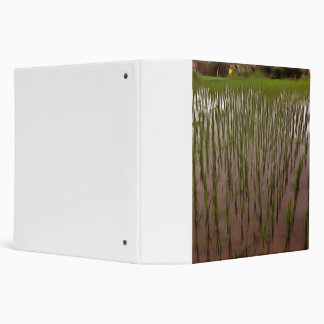 Water and paddy field 3 ring binder