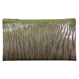 Water and paddy field cosmetic bag
