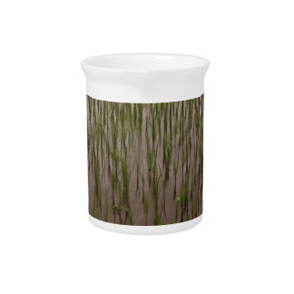 Water and paddy field drink pitcher