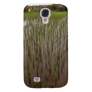 Water and paddy field galaxy s4 cover
