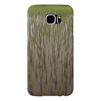 Water and paddy field samsung galaxy s6 case
