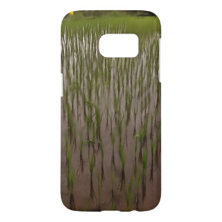 Water and paddy field samsung galaxy s7 case
